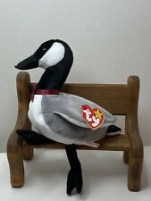 "TY Beanie Baby "" Loosy ""  The Goose With Tag  Retired   DOB: March 29th, 1998"