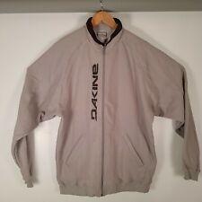 Mens Dakine Fleece Track Jacket Colour Grey Size Large BNWT