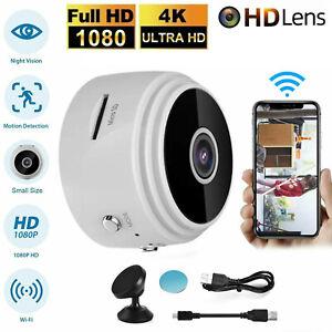 Wireless WiFi Mini IP Camera DVR Hidden Home Security Night Vision HD 1080P New