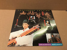 Deadful Melody Six-Fingered Strings Demon Hong Kong Rare LaserDisc Swordplay