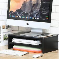 Desktop Monitor Riser TV Stand Desk Organizer Storage Shelf For Computer Laptop