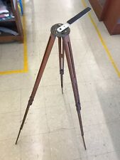 Wooden Antique Vintage Film Camera Tripod Eastman Kodak Compact Expandable