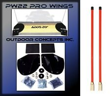 """New Snow Plow PRO-WING BLADE EXTENSIONS & Pair of 36"""" Snowplow BLADE MARKERS KIT"""