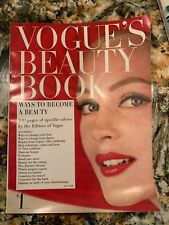 Irving Penn Karen Radkai Priscilla Peck VOGUE'S BEAUTY BOOK Magazine 1957-58 VTG