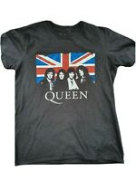 "👑 QUEEN FREDDIE MERCURY Official Merch T Shirt Black S Vintage Style 36"" Chest"