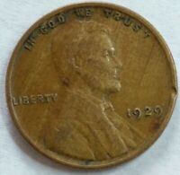 1929 - P - US Lincoln Wheat Cent - Woody (Q347)
