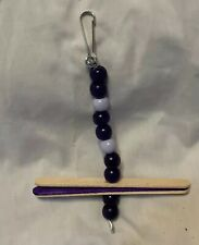 Purple Pet Hanging toy, Cage Decorations, Rats, Hamster, Mice