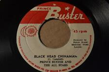 PRINCE BUSTER BLACK HEAD CHINAMAN / SPIDER AND THE FLY -SKA VG+/VG++