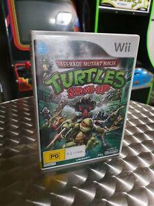 Teenage Mutant Ninja Turtles Smash Up - Nintendo Wii Game - Complete With Manual
