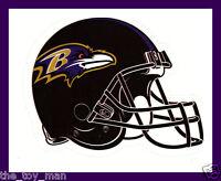 BALTIMORE RAVENS FOOTBALL NFL HELMET DECAL STICKER TEAM LOGO~BOGO 25% OFF