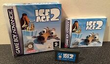 Ice Age 2 - Nintendo Gameboy Advance Game - Boxed With Manual
