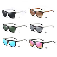 Polarized Mens Retro Vintage Aluminum Aviator Sunglasses Eyewear Eye Glasses New