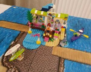 LEGO UK 41315 Heart lake Surf Shop - 100% Complete - Boxed