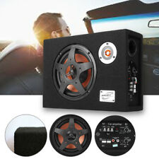 """8"""" Inch 480W 12V Under-Seat Ultra-Thin Car Audio Subwoofer Bass Modified Speaker"""