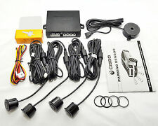 CISBO CAR REAR REVERSING PARKING SENSORS 4 SENSOR AUDIO BUZZER ALARM CANBUS KIT