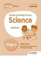 Hodder Cambridge Primary Science Workbook 6 by Peter Riley (Paperback, 2017)