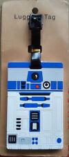 R2-D2 Disney Marvel Star Wars Suitcase Baggage Kids Schoolbag PVC Luggage Tags
