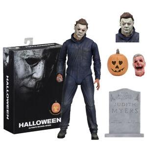 "NECA Horror Halloween 2018 Michael Myers 7"" Action Figure 1:12 Toy Model Gift"