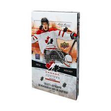 2016-17 Upper Deck Team Canada World Juniors Hockey Hobby Box