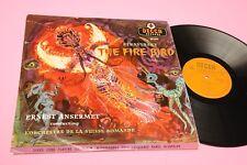 STRAVINSKY ANSERMET LP FIRE BIRD ORIG DECCA UK EX LAMIANTED COVER TOP CLASSICA