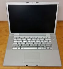 """Apple MacBook Pro A1211 15.4"""" Intel 2.40GHz 2GB Parts Repair Fix MA610LL/A"""