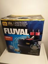 Fluval 106 external filter ( new and unused ) bargain 100% complete