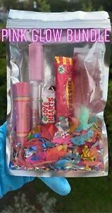 🍓💖💦Lipgloss Bundle Pink Glow Glosses Balm And Candy Set