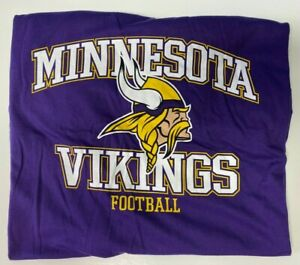 Minnesota Vikings Women's NFL Apparel Purple T Shirt Plus Sizes