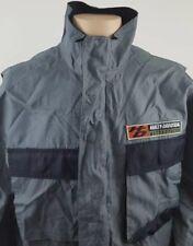 HARLEY DAVIDSON Clothes Motorcycles Men Lightweight Windbreaker Jacket Sz Medium