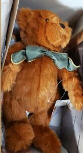 NEW Paddy O'Cinnamon Barbara Ferrier Jointed Bear 1997 includes AUDIO TAPE