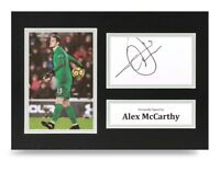 Alex McCarthy Signed A4 Photo Display Southampton Autograph Memorabilia + COA