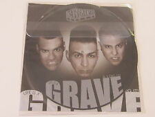 NEKROMANTIX Life Is A Grave LP PICTURE DISC horror pops HELLCAT UNPLAYED