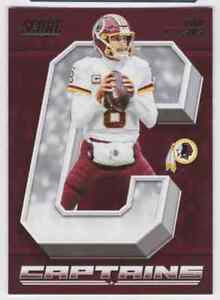 2018 SCORE CAPTAINS KIRK COUSINS WASHINGTON REDSKINS #29 INSERT
