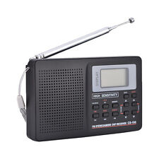 Digital Portable LCD Receiver TF Mp3 Rec Player Am FM SW Full Band Radio SG Type 2