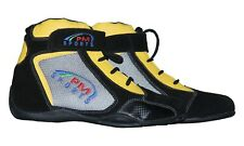 NEW  Karting /Race/Rally/Track Boots with artificial leather / suede mix
