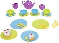 Casdon TEA SET Food Cooking Pretend Play Pre-School Children Toy BN