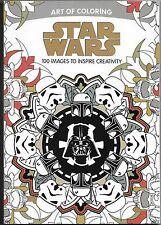 Disney Art of Coloring Adult Coloring Book  - Star Wars