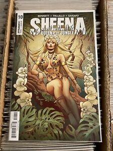 SHEENA QUEEN OF THE JUNGLE #10 MARIA SANAPO HOT REGULAR MAIN COVER 2018 shanna
