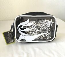 """Disney Loungefly """"The Nightmare Before Christmas"""" 25 Years Cosmetic Bag Set New"""