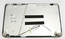 """Toshiba Satellite  A000291910 15.6"""" BACK COVER with Hinges and Cable New"""