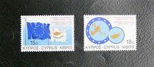 TIMBRES DE CHYPRE : 1988 N° 689 / 690 ** SANS CHARNIERE ET EN TRES BON ETAT