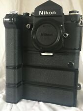 Nikon f2 High speed. Boxed with motor drive, Battery packs and charger.