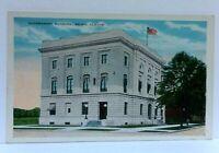 Selma Alabama Government Building Vintage Postcard