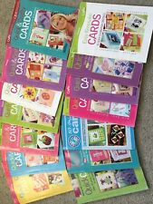 14 X Cardmaking  Books With Approx 35 Card Inspirations per Book