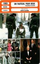 FICHE CINEMA : UN FAUTEUIL POUR DEUX - Aykroyd,Bellamy,Landis1983 Trading Places