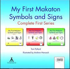 Makaton baby - My First Makaton Symbols and Signs, Tom Pollard, Books 1, 2 & 3