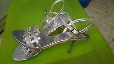 Zapatos de fiesta  L.CARRERAS color plata talla 39