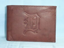 DETROIT TIGERS   Leather BiFold Wallet    NEW   dkb 5 mz