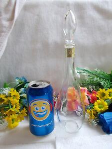 LOVELY GLASS FOAM BATH BOTTLE - LOVELY HOLLOW LID - 28 cm HIGH - VGC # 714