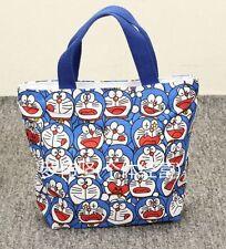 Doraemon blue lots head handbag tote lunch bag storage bags U252 anime new